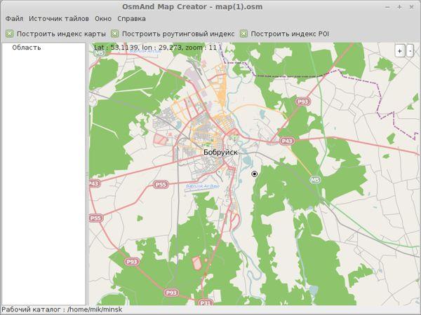 Программу для создания карт городов