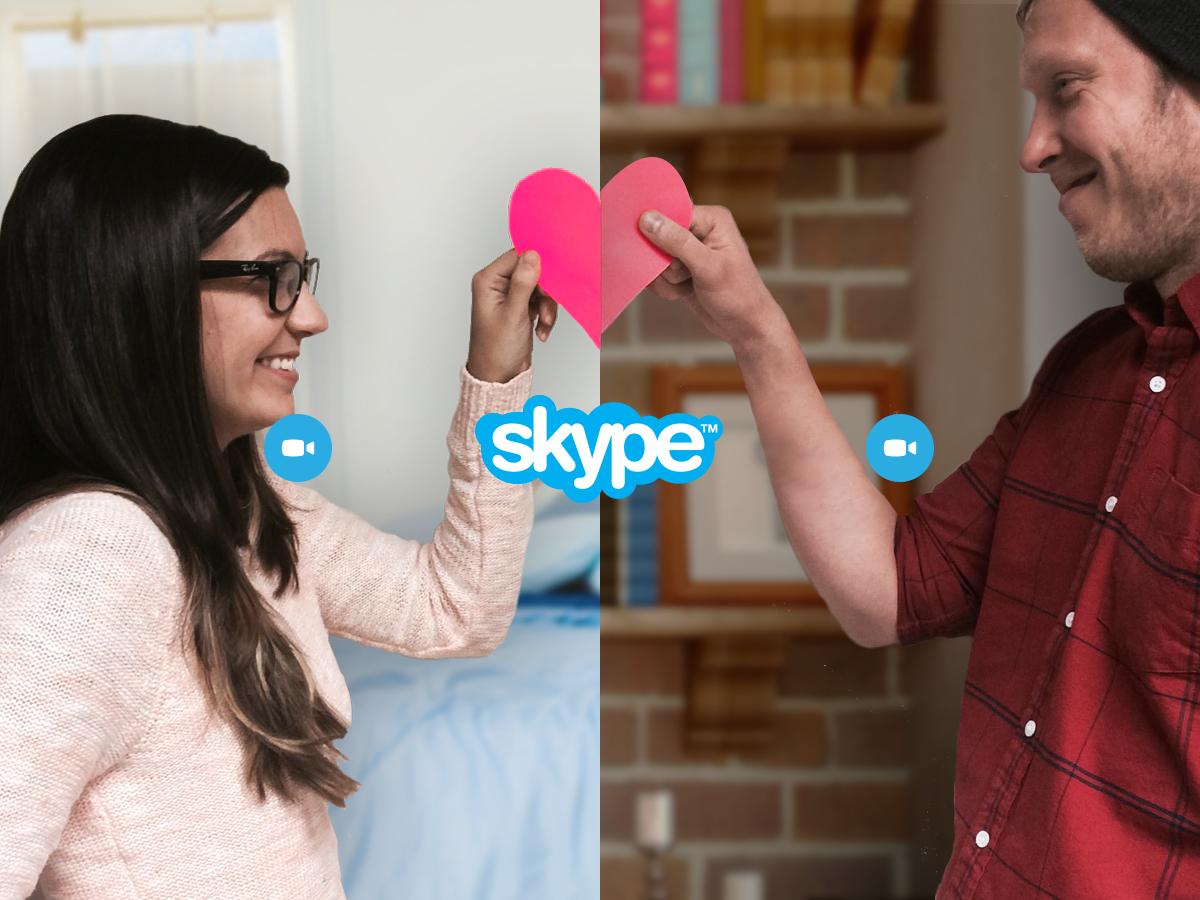 Картинка любовь по скайпу