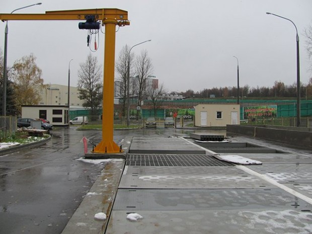 ВМинске запустят первую в Беларуссии снегоплавильную станцию