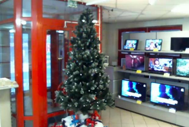 ВМинске установили первую вРеспублике Беларусь «умную» новогоднюю ель