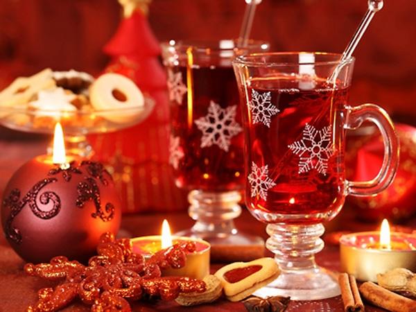 Новогодние напитки своими руками