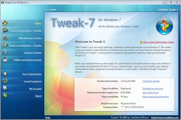 твикер для windows 7 - фото 11
