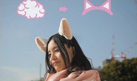 Они создали Nekomimi - кошачьи уши.  Мало того, что эти уши подвижны, они к тому же слышат импульсы коры головного...